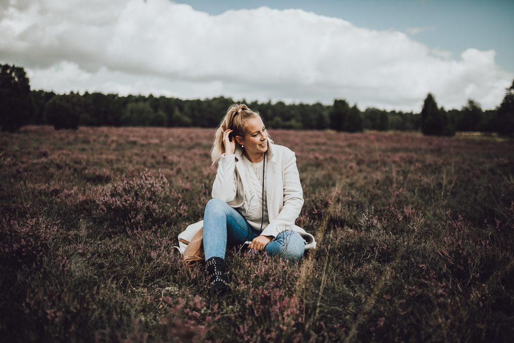 Mischa Mars eine Fotografin aus Hamburg in der Lüneburger Heide ihr zuhause